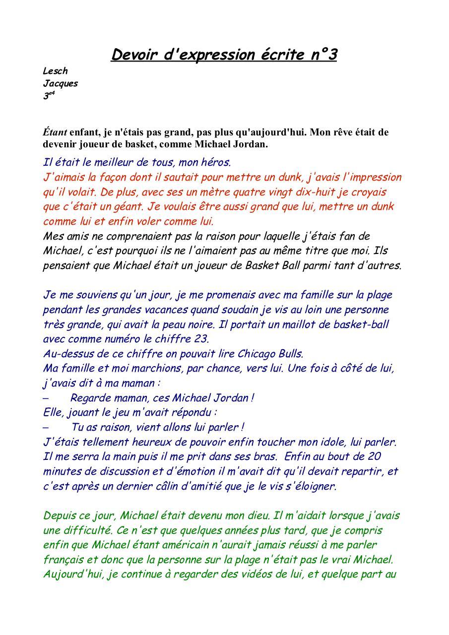 Production Ecrite Sur Une Rencontre – rap-culture.fr