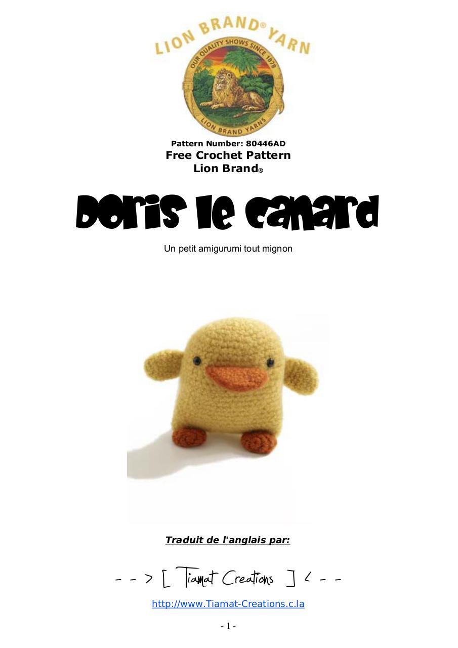 Aperçu Doris le canard.pdf - Page 1/3