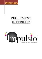 reglement interieur impulsiofini