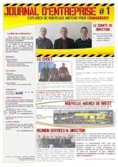 journal entreprise mars 2010