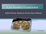 los sushis franceses 1