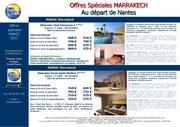 offres speciales marrakech 2011