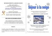 plaquette ski vendeuvre 2011