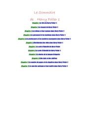 Fichier PDF harry potter 1