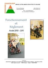 reglement fonctionnement 2010