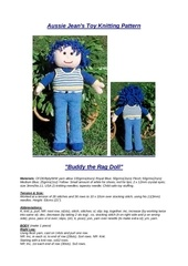 rag doll buddy blue hair 1