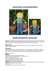 Fichier PDF rag doll buddy yellow hair