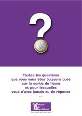 questions reponses sur la sortie de l euro