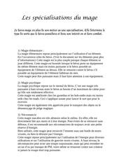 Fichier PDF les specialisations magiques