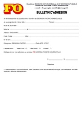 Fichier PDF bulletin adhesion fo sans prelevement