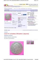 ebay be louis xv 1756 l objet 33031227884