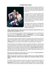 histoire de la famille grenier