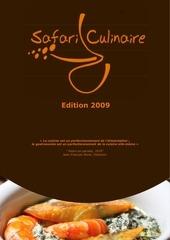 plaquette safari culinaire