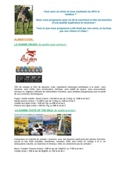 Fichier PDF boutique