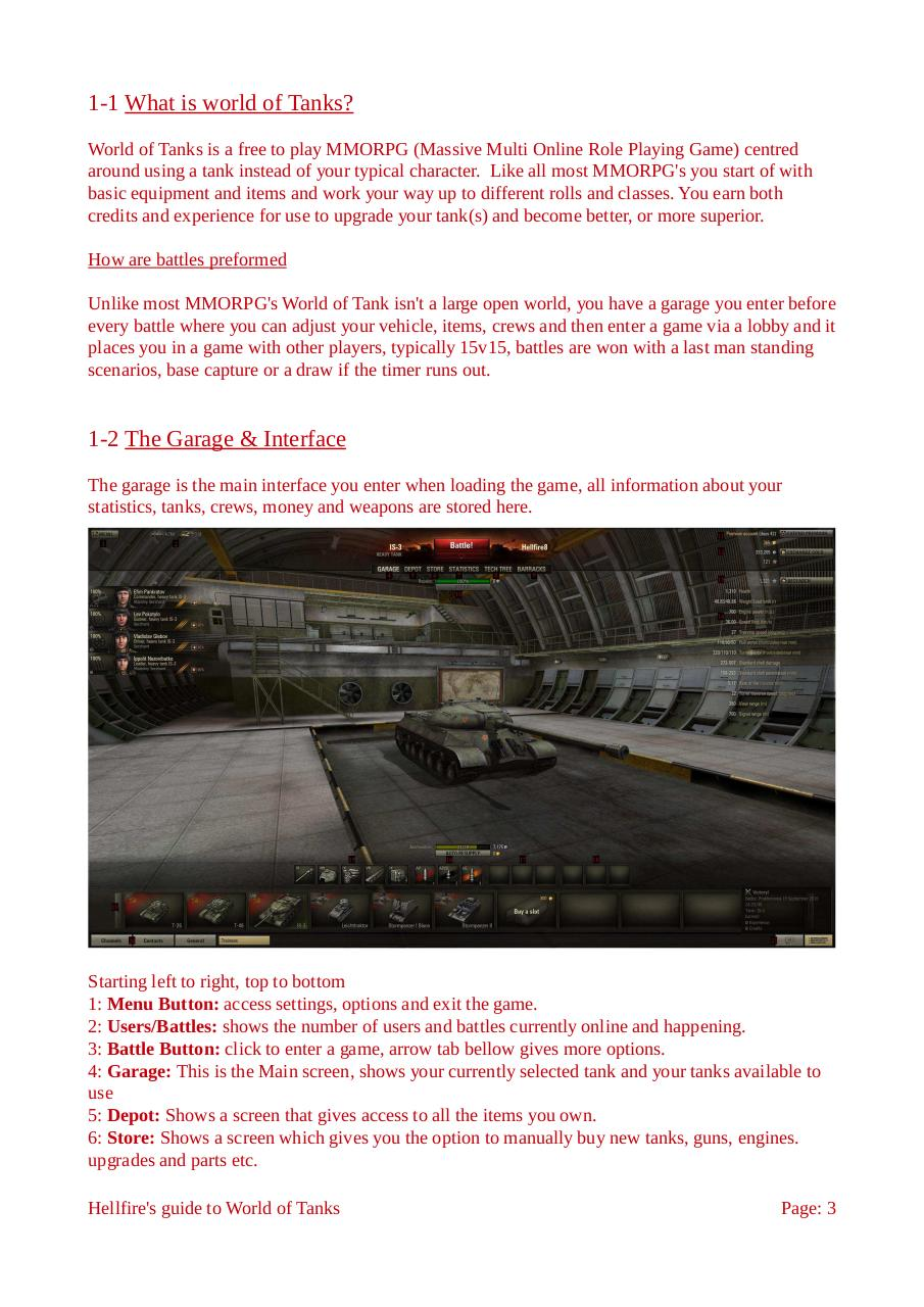 Hellfires Guide to World of Tanks.pdf - page 3/15