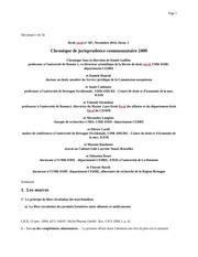 chronique jpdence comm 2009
