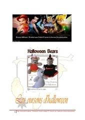 les oursons d halloween 1er partie