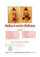 madlina la sorciere d halloween