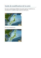 Fichier PDF guide de modification de la carte