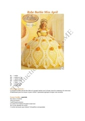 Fichier PDF robe barbie miss april