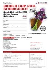 registration snowscoot world cup 2011 en