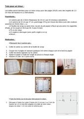 Fichier PDF tuto pour un trieur