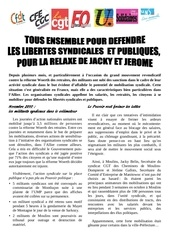 tract intersyndical 26 janvier 2011