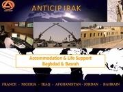 presentation accomodation irak