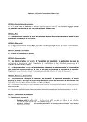 Fichier PDF reglement interieur de l association v4