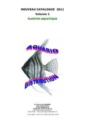 catalogue v1 plantes tarifs 2011