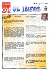 ul infos de janvier 2011