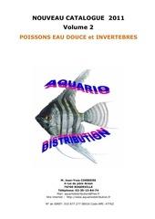 poissons eau douce et invertebres v2 2011