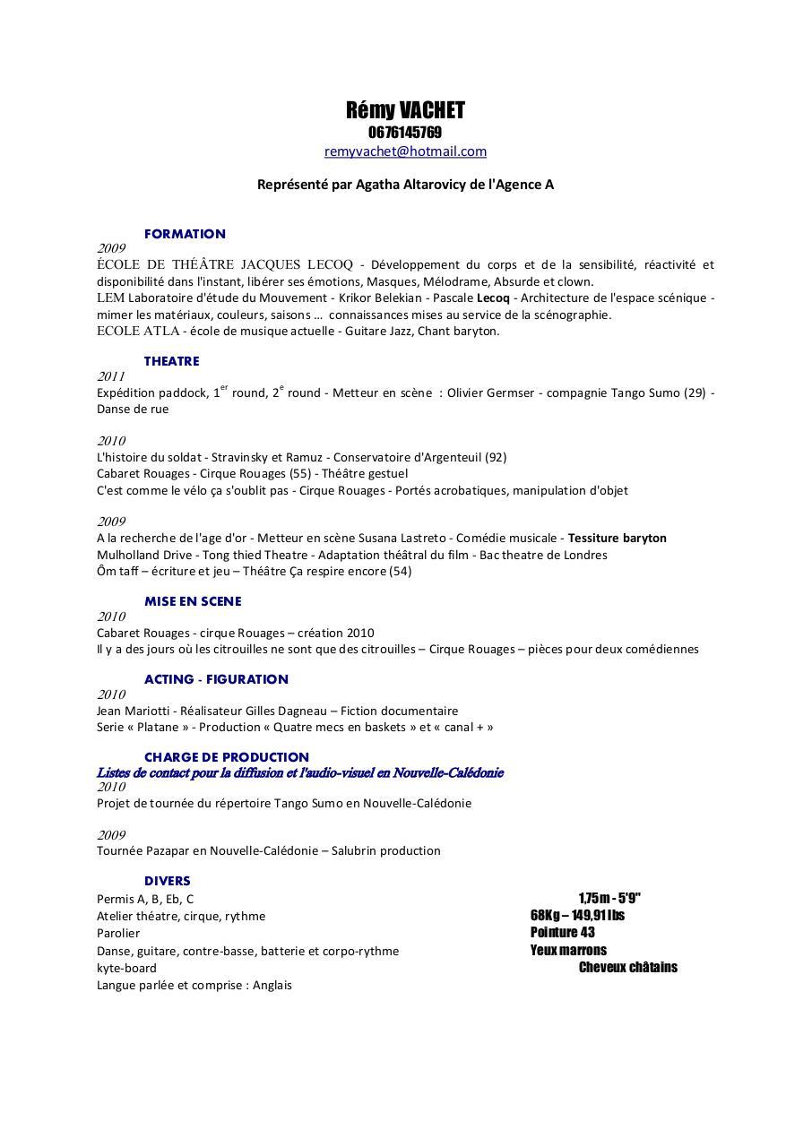 cv intervenants collectif 410 par lilou