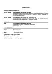agent d entretien 8506289
