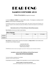 Fichier PDF fiche inscription