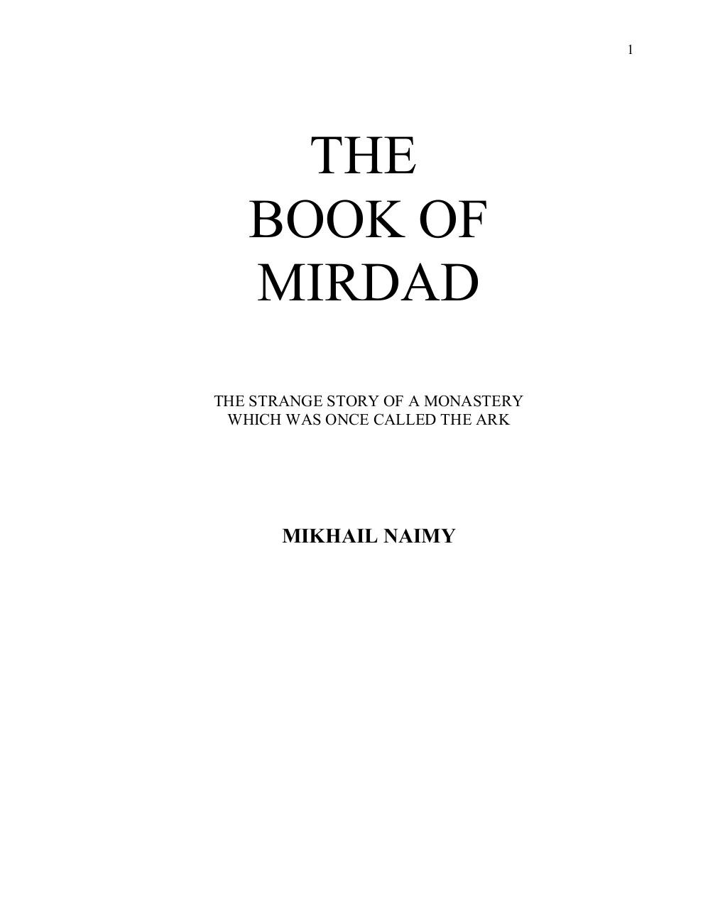 THE BOOK OF MIRDAD.pdf - page 1/140
