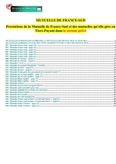 france sud codes garanties pharmacies 2011