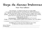 stage danses bretonnes