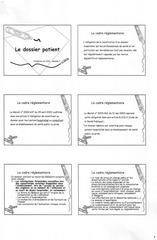 le dossier patient0001