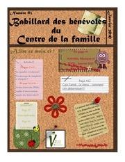babillard des benevoles janvier 2010