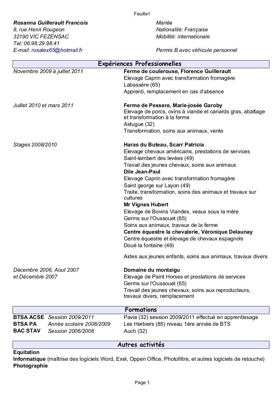 cv 2011 pdf par rosanna xx