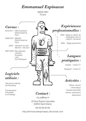 cv anatomie