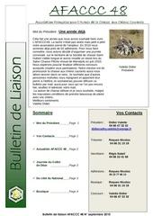 bulletin de liaison n 1
