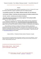 dossier inscriptions pros 5 mars