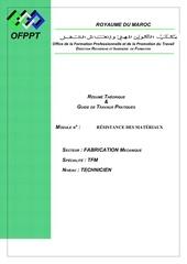 Fichier PDF m15 resistance des materiaux