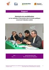rapport seminaire 09 decembre