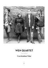 wen quartet cv