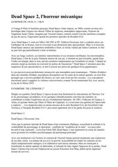 Fichier PDF dead space 2