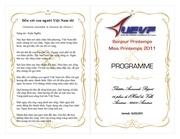 programme cx 2011
