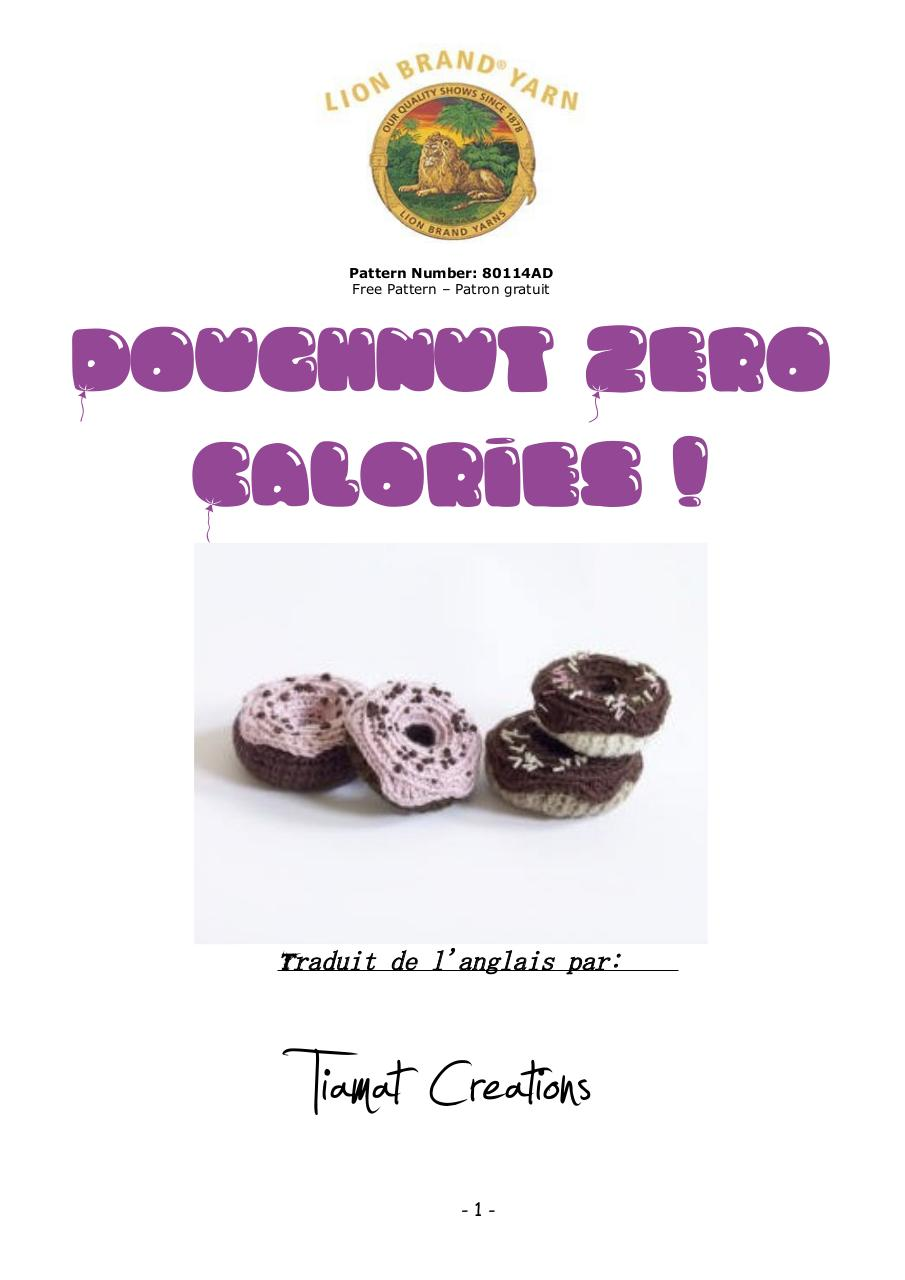 Aperçu du document Doughnuts 0 calories.pdf - page 1/3